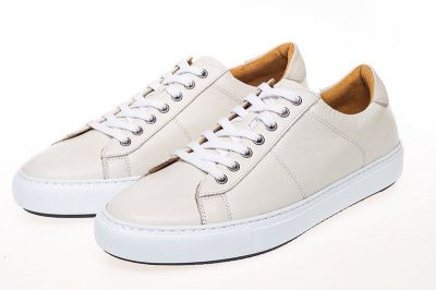 John White Bari Sneakers In White