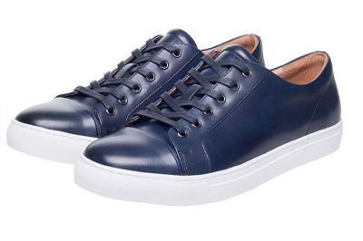 John White Halcyon Sneaker In Navy