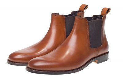 John White Stables Chelsea Boots in Tan
