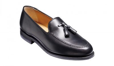 Barker Studland Loafer in Black Calf