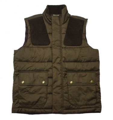 Barbour Colwarmth Quilt Gilet in Olive