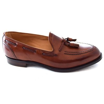 Joseph Cheaney Hugh ll Loafer In Dark Leather