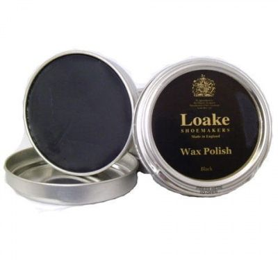 Loake Shoemakers Wax Polish Black