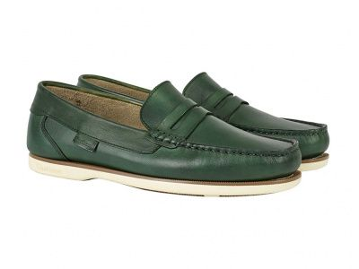 Chatham Faraday Loafer in Green
