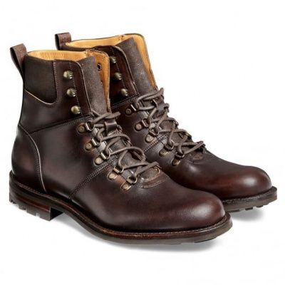Cheaney Ingleborough B Hiker Chicago Chromexcel Leather Boot in Tan