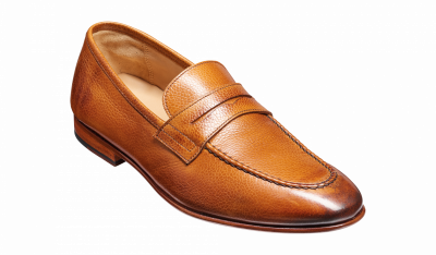 Barker Ledley Loafer in Cedar Grain
