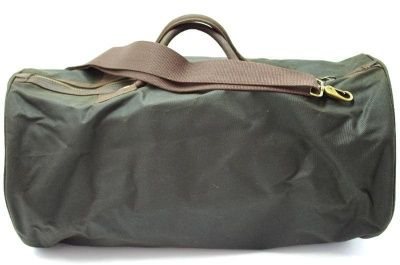 Barbour Wax Cotton Holdall in Olive