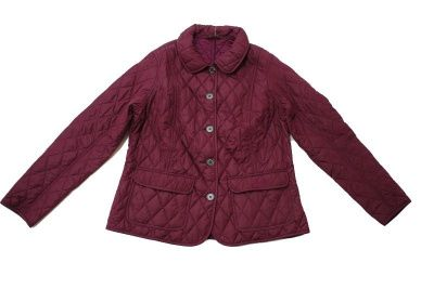Barbour Bower Quilted Jacket in Bordeaux