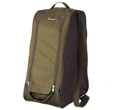Barbour Wellington Boot Bag in Olive