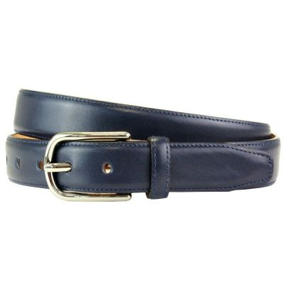 The British Belt Company Fairford Navy Belt