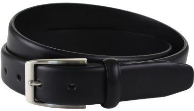 The British Belt Company Langham Black Belt