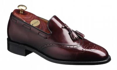 Barker Clive Shoe in Burgundy