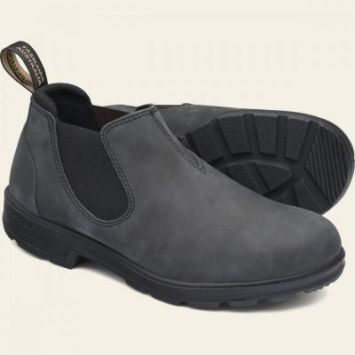 Blundstone 2035 Chelsea Shoe in Rustic Black