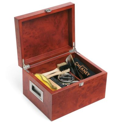 Joseph Cheaney Wooden Valet Shoe Care Box