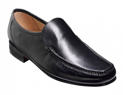 Barker Javron Big Size Loafer in Black