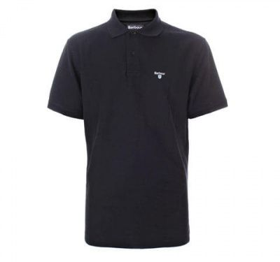 Barbour Sport Polo in Black