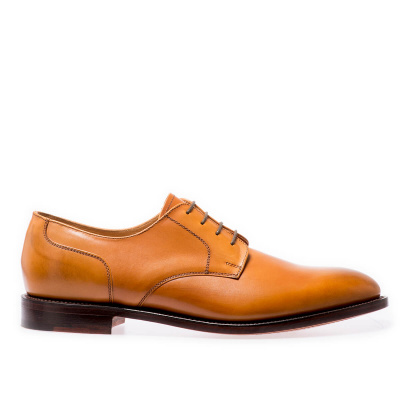 NPS Cameron Derby shoes in Acorn