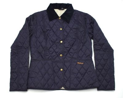 Barbour Ladies Summer Liddesdale Quilted Jacket in Navy