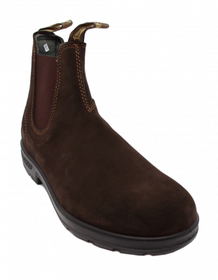 Blundstone 1458 Chelsea Boot in Brown Suede