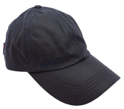Barbour Wax Sports Cap in Navy