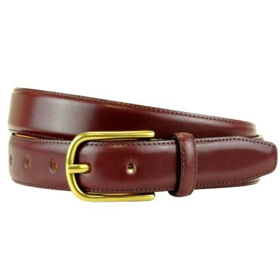 The British Belt Company Fairford Rosewood Belt