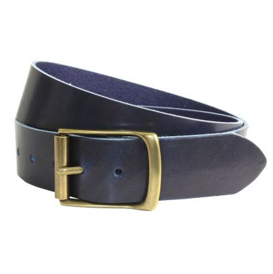 The British Belt Company Rollerston Navy Belt