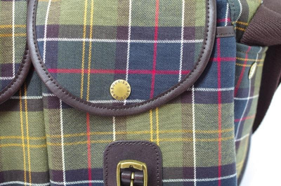 Barbour Ladies Medium Tartan Tarras Bag