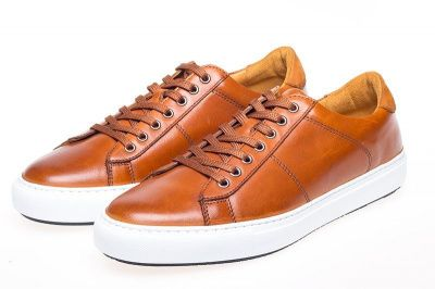 John White Bari Sneakers In Tan