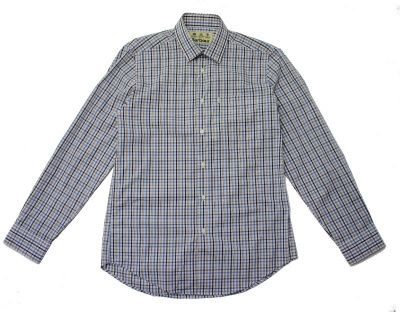 Barbour Buddon Checked Shirt in Navy