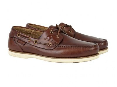 Chatham Newton Deck Shoes in Coffee