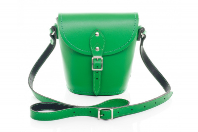 Zatchels Barrel Classic Bag In Winter Green