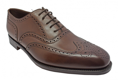 Loake Buckingham Brogue in Dark Brown