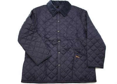 Barbour Liddesdale Quilted Jacket in Navy