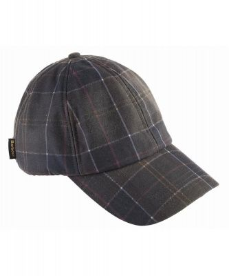 Barbour Wax Sports Cap in Tartan