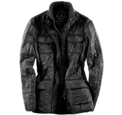 Barbour Ladies Utility Polarquilt Jacket in Black