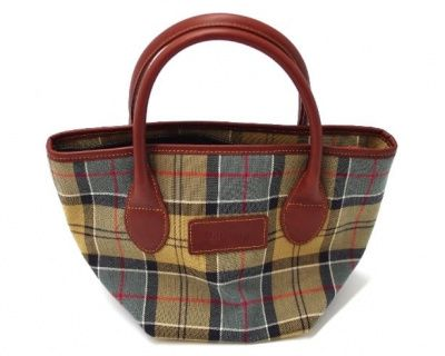 Barbour Ladies Tartan Tote Bag in DressTartan