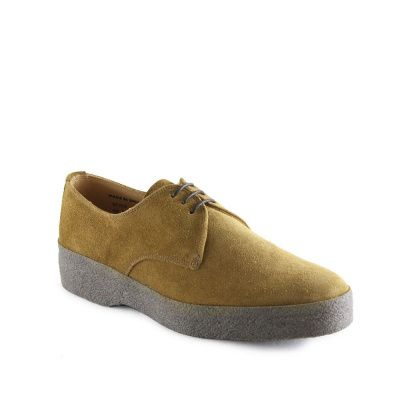 Sanders Lo-Top Gibson Shoe in Indiana Tan Suede